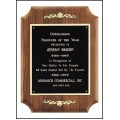 Solid American Walnut Plaque with furniture finish